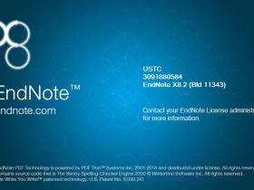 EndNote X8.2 bld11343 中文汉化版